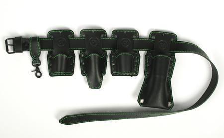 Pas narzędziowy monterski skórzany monter rusztowań  (1)