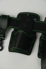 Pas narzędziowy monterski skórzany monter rusztowań  (2)