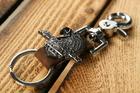 Zawieszka do kluczy brąz z orłem (1)