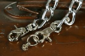 Łańcuch do portfela metalowy.