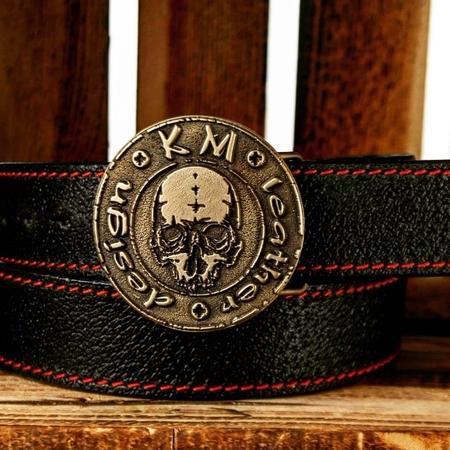 Pas skórzany KM leather design (1)