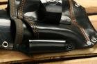 Kabura monterska skóra czarna (4)