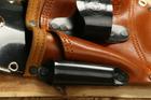 Pakiet 10szt Kabura monterska skóra brązowa (2)