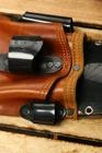 Pakiet 10szt Kabura monterska skóra brązowa (3)