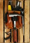 Pakiet 10szt Kabura monterska skóra brązowa (4)