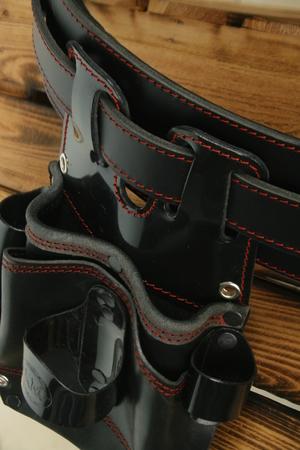 Kabura narzędziowa monterska + szeroki pas  monter rusztowań (3)